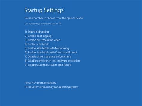 Time To Go To Bootc by Windows 10 Tip Start In Safe Mode And Use Other Advanced