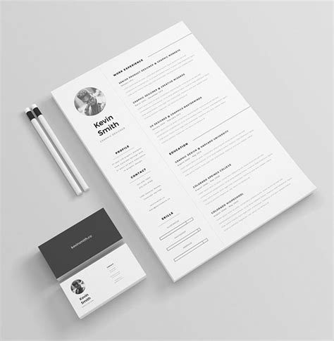 free minimal resume cv design 28 images 7 pages
