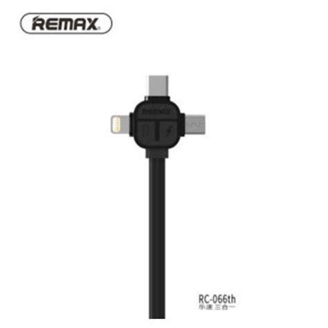 Kabel Usb Remax Usb Type C Charge Cable Rt C1 remax lesu 3 in 1 lightning micro usb usb type c charging cable 1m rc 066th black