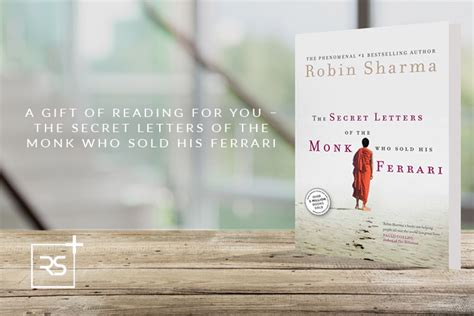the monk who sold his reading a gift of reading for you the secret letters of the monk