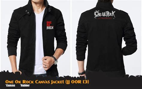 Kaos Anime Band One Ok Rock Oor Duluxe Special T Shirt Kj Oor 07 jual jaket anime band one ok rock black hitam canvas jacket jj oor 13 di lapak shop