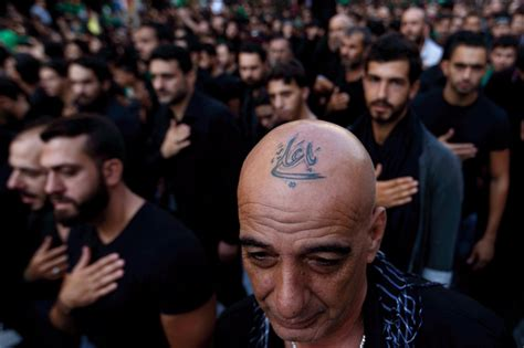can muslims have tattoos pictured shiite tattoos a show of pride amid tensions