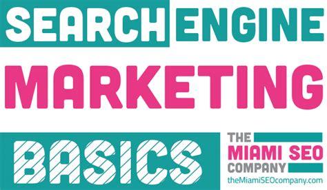 Seo Marketing Company - sem basics learn the seo basics on our search engine