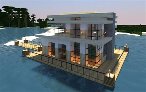 modern home very comfortable minecraft house design 20 modern minecraft houses nerd reactor