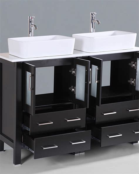 48in bathroom vanity 48in double vanity by bosconi boab224rc