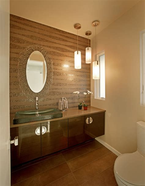 how big is a powder room photo gallery