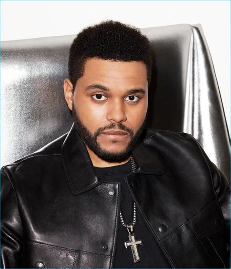 weeknd hairstyle the weeknd covers wsj magazine talks haircut