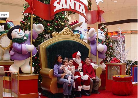 santa decorations shopping center decorations mall displays