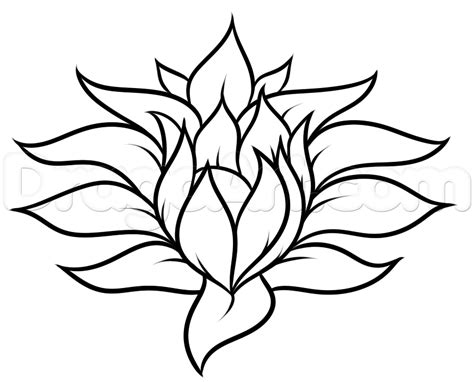 drawing made easy flowers drawing a pretty flower easy step by step flowers pop