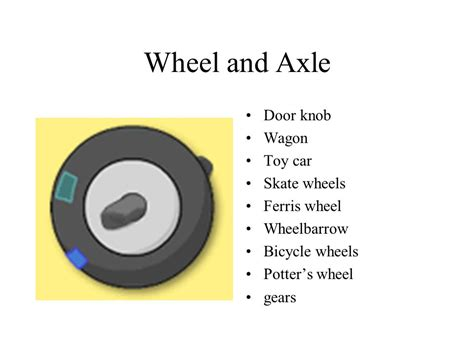 Door Knob Wheel And Axle by Simple Machines By Joanne Griffin Ppt