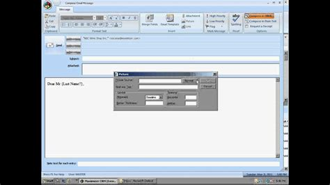 Maximizer Crm Email Templates Creating An Email Template Avi Youtube Crm Email Templates