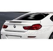 Custom BMW 6 Series Coupe &amp Sedan Trunk Wing 2011  2017