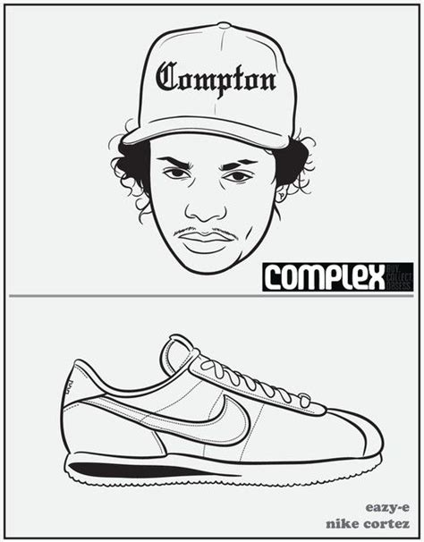 eazy e coloring page coloring books rap and book on pinterest