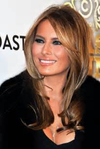 julie s hair color melania trump s rules for the holidays closed set with