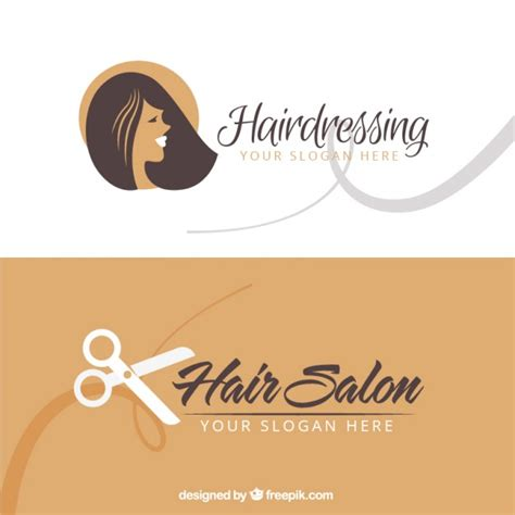 hairdresser business card templates free hair salon business card vector free
