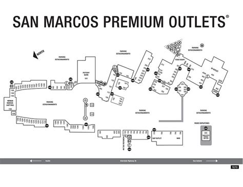 tanger outlet texas city map san marcos outlet map my