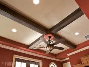 fake beams for ceiling