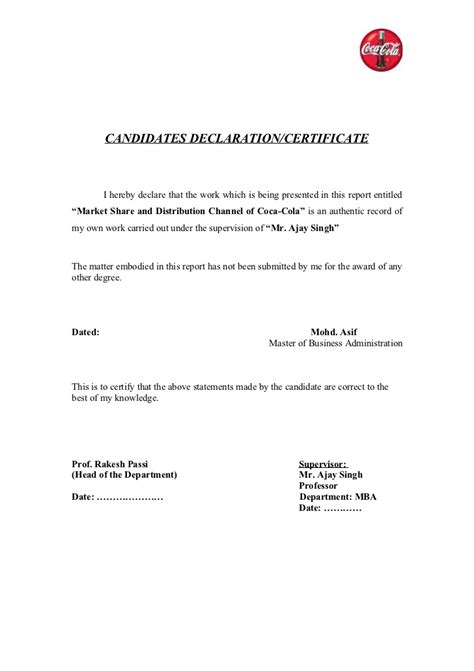 certification letter for domestic helper coca cola hindystan coca cola 2
