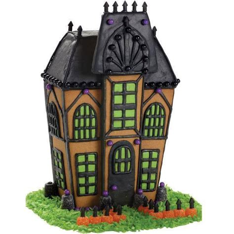 haunted gingerbread house kit chloe s celebrations wilton haunted cookie house giveaway celebrate decorate