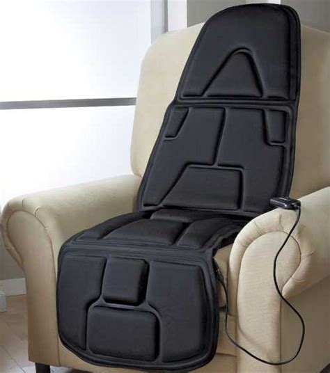 Massaging Chair Pad by 10 Motor Chair Pad
