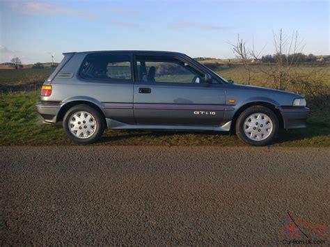 Big Car Garage 1991 toyota corolla gti 16v grey full resto not 600 pounds