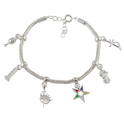order of the eastern heroine emblem charm bracelet