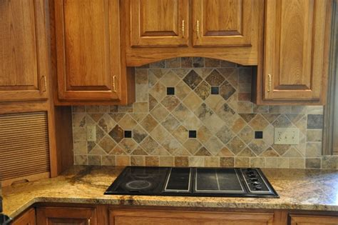 Kitchen Tile Backsplash Ideas With Granite Countertops Granite Countertops And Tile Backsplash Ideas Eclectic Kitchen Indianapolis By Supreme