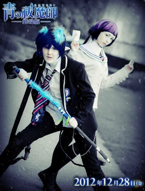 download film anime exorcist ao no exorcist cosplay movie poster by bekumura on deviantart