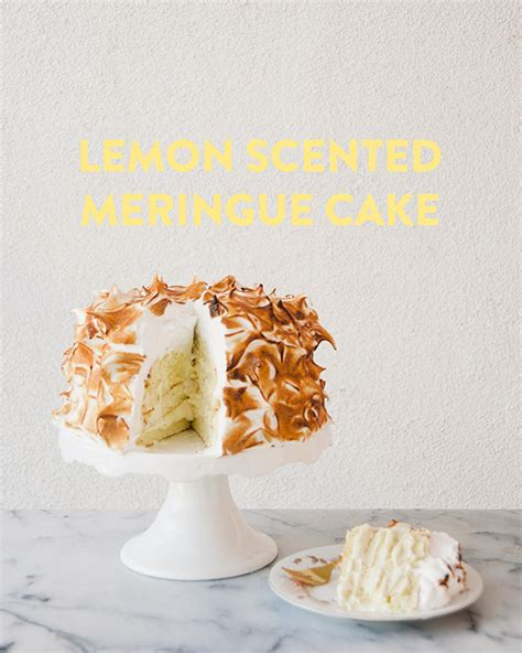 cipriani recipe lemon scented meringue cake the kitchy kitchen