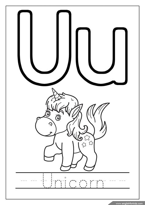 letter u coloring pages preschool alphabet coloring pages b word printable animals