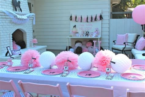 birthday themes 11 year olds a 50 s themed girls birthday party design dazzle
