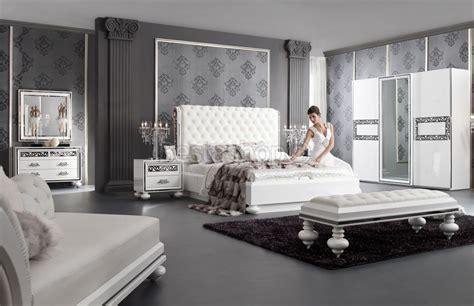 chambre blanche et argent馥 modele de chambre a coucher adulte