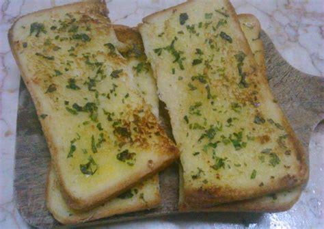cara membuat garlic bread dengan teflon berbagi resep cara membuat roti garlic yang gurih dan enak