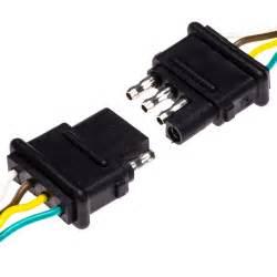 tc 4cfpt 4 wire female trailer light connector plugs