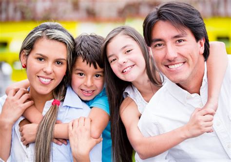 beautiful family whittier family smiling best dental group in whittier ca 562 696 2862