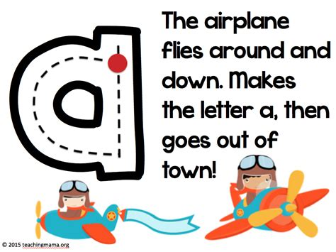 letter formation rhymes 10 best images of lowercase letter formation letter