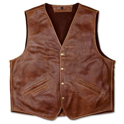 Jaket Kulit Front Belt nra coronado laredo concealed carry leather vest official