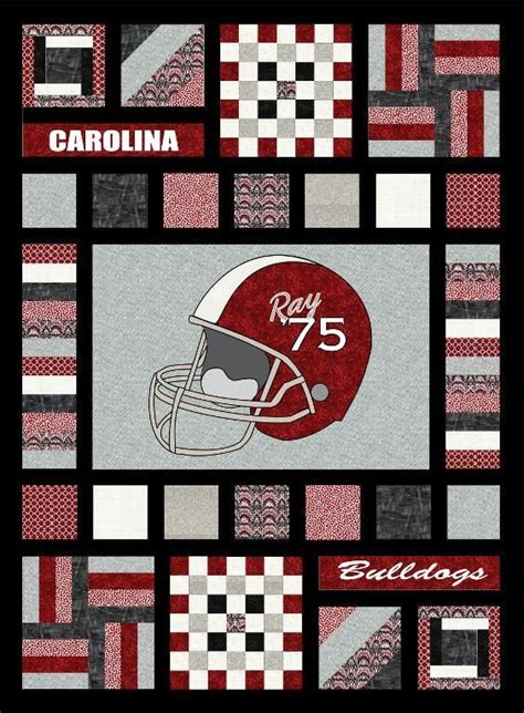 25 best ideas about football quilt on quilt