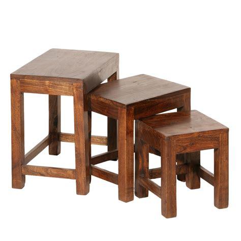 Tables Gigognes En Bois 4514 by Tables Gigognes Bois Table Gigogne En Bois Set De Tables