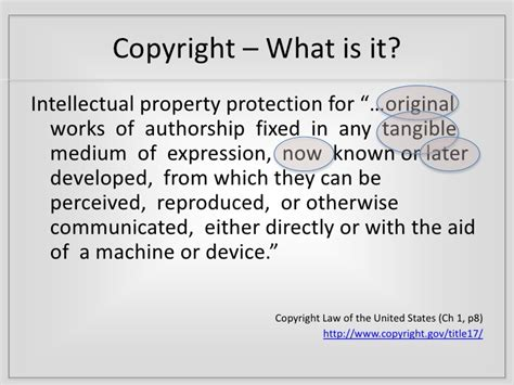 copyright act section 106 tfdn 2010 copyright and copywrong
