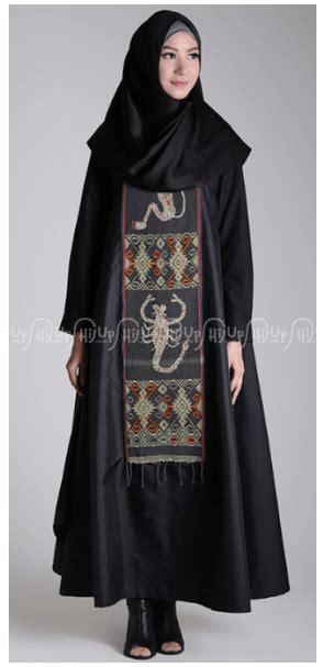 desain baju batik songket 10 aneka pilihan busana muslim motif etnik elegan