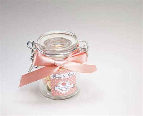 vasi bomboniere bomboniere con vasetti di vetro originali e personalizzati