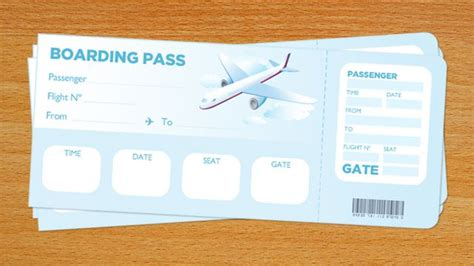 boarding card template word the 25 best boarding pass template ideas on