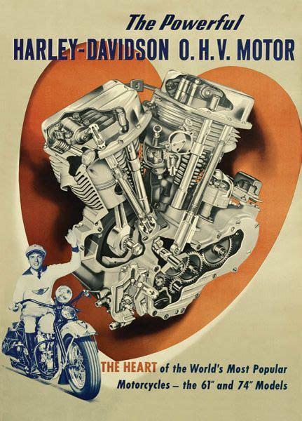 Poster Harley Davidson 1 vintage harley davidson poster search vintage