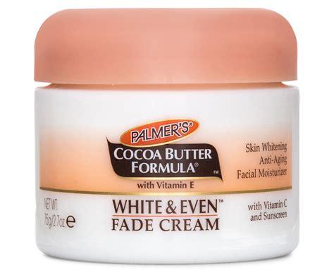 palmer s cocoa butter white even fade 75g ebay