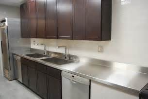Stainless Steel Countertops Custom Metal Home Stainless Steel Countertops