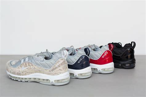 air supreme supreme x nike air max 98 release date sneaker bar detroit