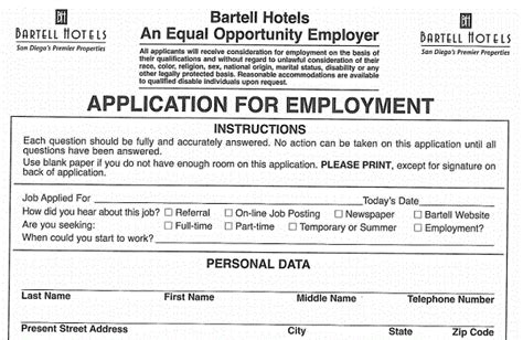 comfort inn job application job application letter sle for account manager position