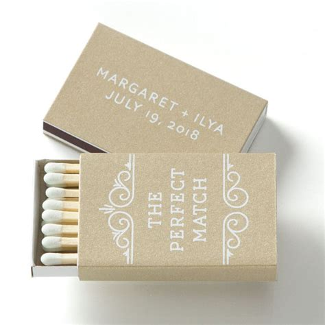 Wedding Favors Matches the match personalized match boxes 25 wedding
