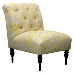 yellow patterned slipper chair 1000 images about living room on pinterest slipper